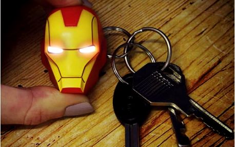 Baterka na klíče Iron Man