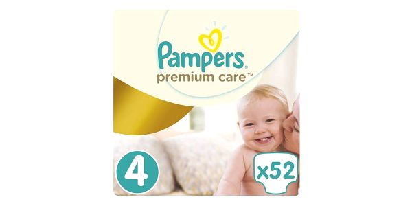 Pampers Premium Care Maxi vel. 4, 7-14kg, 52 ks