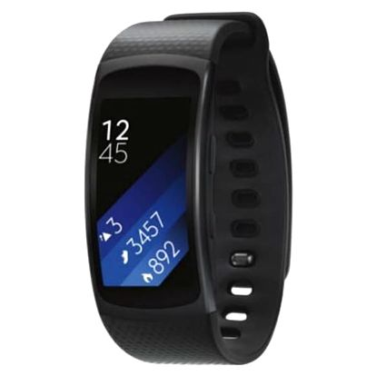 Fitness náramek Samsung Gear Fit2 vel. L šedý (SM-R3600DAAXEZ)