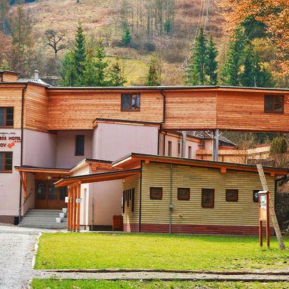 Wellness Hotel Bozeňov na Moravě s polopenzí a wellness