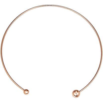 Dámský náhrdelník v barvě růžového zlata Runaway Flora