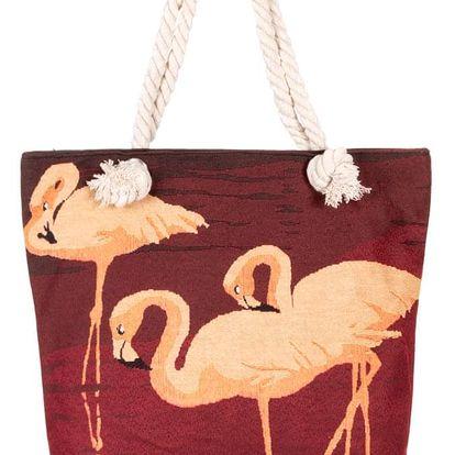 Fashion Icon taška s plameňáky