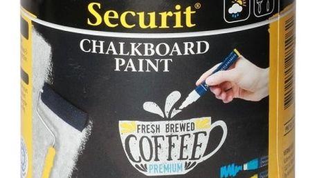 Černá tabulová barva na vódní bázi Securit® Chalkboard, 250 ml