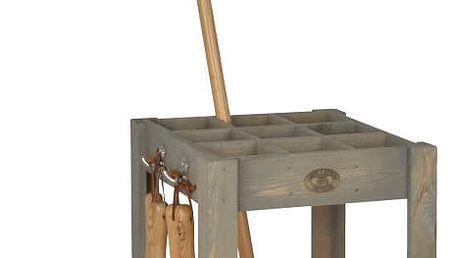 Stojan na zahradnické nástroje z borovicového dřeva Esschert Design Stanley