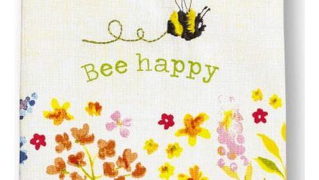 Sada 3 utěrek Cooksmart England Flowers