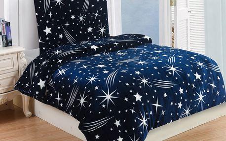 Jahu Povlečeni mikroplyš Galaxy, 140 x 200 cm, 70 x 90 cm
