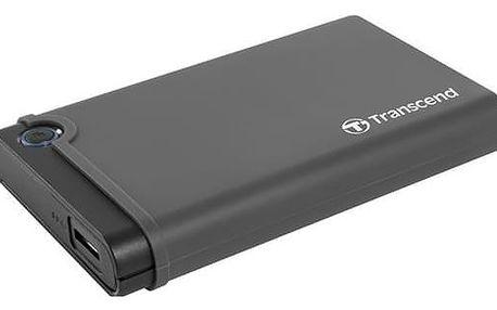 """Box na HDD Transcend StoreJet 25CK3 All-in-one, 2,5"""" SATA, USB 3.0 černý (TS0GSJ25CK3)"""