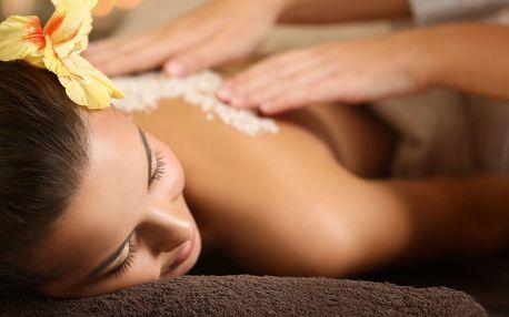 Relaxační masáž se zábalem: záda i celé tělo