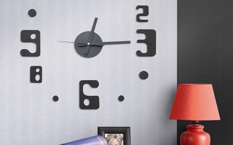 G21 Eccentric Style Samolepící hodiny