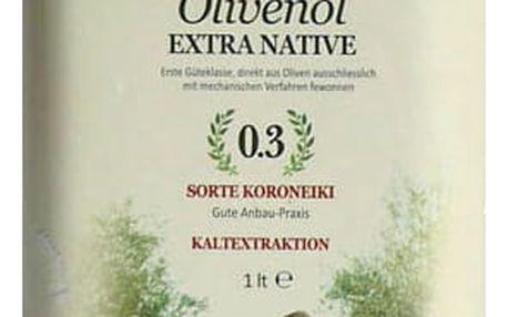 Olivový Olej Cretan Village 1000ml Plech Extra Virgin