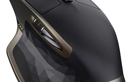 Myš Logitech MX Master bronzová (/ Darkfield / 7 tlačítek / 1600dpi) (910-004362)