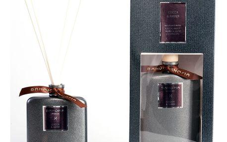 Difuzér s vůní kakaa a jantaru Bahoma London, 100 ml