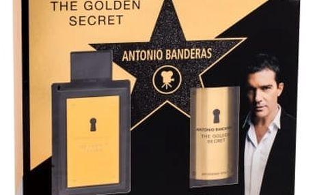 Antonio Banderas The Golden Secret dárková kazeta pro muže toaletní voda 100 ml + deodorant 150 ml