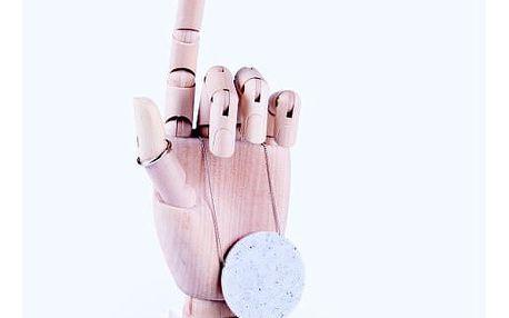 Stojánek na cennosti DOIY The Hand White