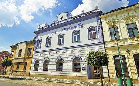 Lázně Bělohrad v Podkrkonoší v rodinném hotelu u centra s polopenzí, kulečníkem i voňavým dárkem