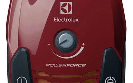 Vysavač podlahový Electrolux PowerForce EPF6ANIMAL červený