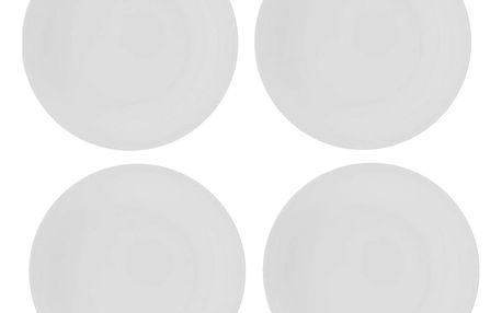 Sada 4 porcelánových talířů Sola Chic Lunasol,21cm