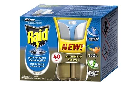 Odpuzovač hmyzu Raid elektrický odpařovač s tekutou náplní Advanced