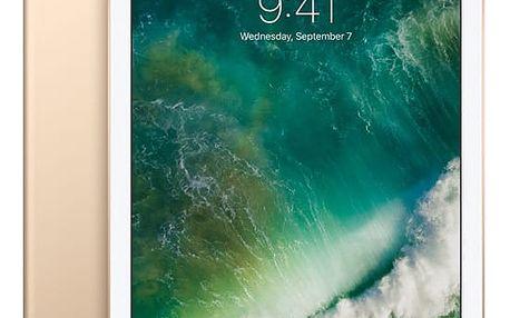 Dotykový tablet Apple (2017) Wi-Fi+Cellular 128 GB - Gold (MPG52FD/A) Software F-Secure SAFE, 3 zařízení / 6 měsíců v hodnotě 979 Kč + DOPRAVA ZDARMA