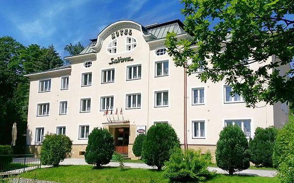 3denní wellness pobyt s polopenzí v hotelu Subterra*** v Krušných horách pro 2
