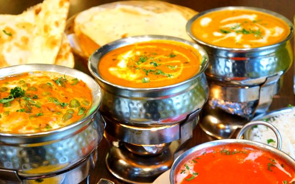 S masem i bez: 4 nepálsko-indické chody pro 2