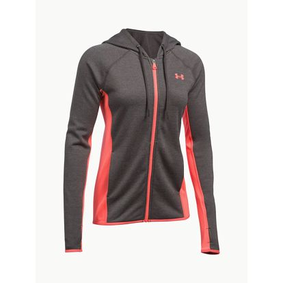 Mikina Under Armour Fleece FZ Crosshatch Šedá