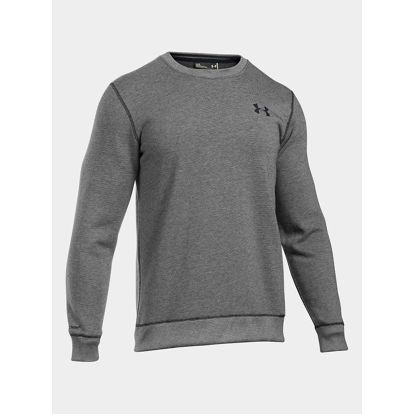 Mikina Under Armour Storm Rival Cotton Crew Šedá
