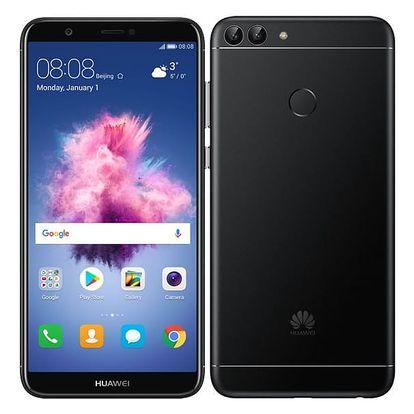 Mobilní telefon Huawei P smart Dual SIM (SP-PSMDSBOM) černý Software F-Secure SAFE, 3 zařízení / 6 měsíců v hodnotě 979 Kč + DOPRAVA ZDARMA
