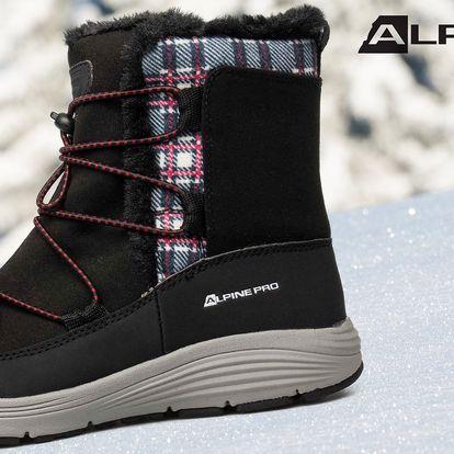 Dámské zimní boty Alpine Pro s kožíškem