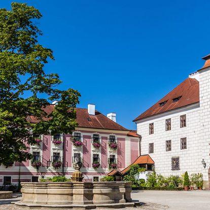 Jarní odpočinek v Třeboni s polopenzí a bazénem