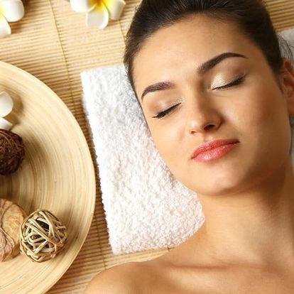 Relaxační kosmetická masáž obličeje