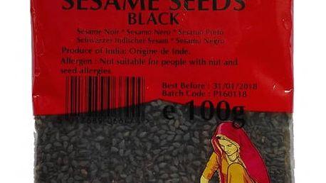 Chefshop Sezam černý celý 100 g