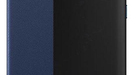 Pouzdro na mobil flipové Huawei Smart View pro P10 Lite modré (51991908)