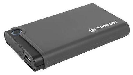 "Transcend StoreJet 25CK3 All-in-one, 2,5"" SATA, USB 3.0 (TS0GSJ25CK3) černý"