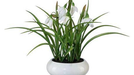 Květina umělá nina, 22 cm