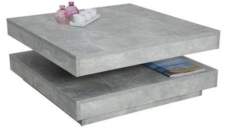 Konferenční stolek ben, 78/34/78 cm