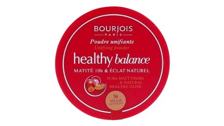 BOURJOIS Paris Healthy Balance 9 g pudr pro ženy 56 Light Bronze