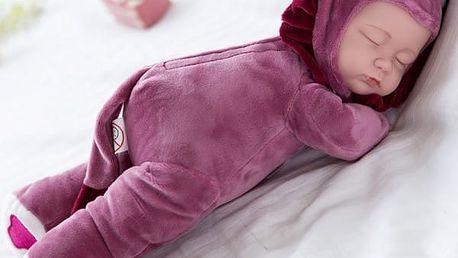 Spící panenka s plyšovým tělíčkem - dodání do 2 dnů