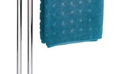 Koupelnový stojanový věšák na ručníky LODI - 2 ramenný, WENKO