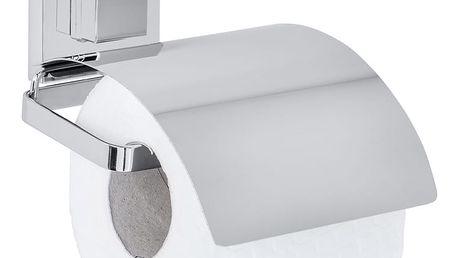 Držák na toaletní papír QUADRO, Vacuum-Loc - nerezová ocel, WENKO