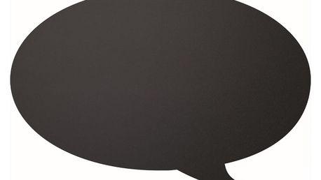 Set popisovací tabule a křídového popisovače Securit® Silhouette Bubble, 47x32cm