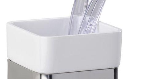 Nádobka na zubní kartáčky PREMIUM PLUS - nerezová ocel, WENKO