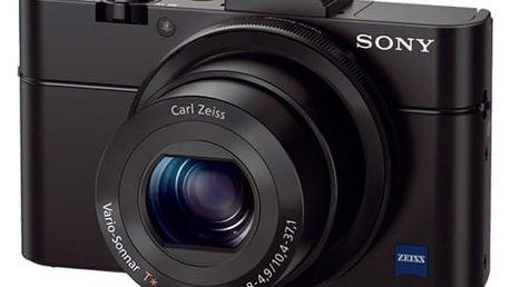 Digitální fotoaparát Sony Cyber-shot DSC-RX100 II černý