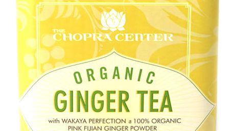 Harney & Sons Ginger Organický zázvorový Chopra bylinný čaj 20 sáčků v plechové krabičce