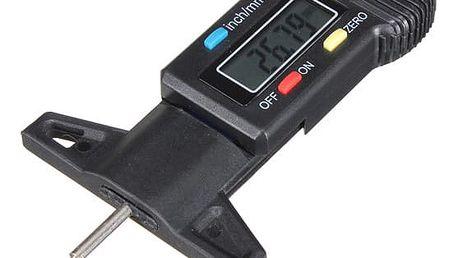 Digitální hloubkoměr pro měření hloubky dezénu pneumatiky