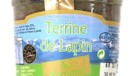 Králičí terina s rozmarýnem Le goût du terroir 90 g