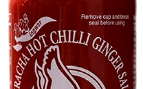 Chilli omáčka Sriracha hot se zázvorem 455 ml