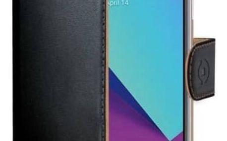 Celly Wally pro Samsung Galaxy J3 (2017) (WALLY663) černé