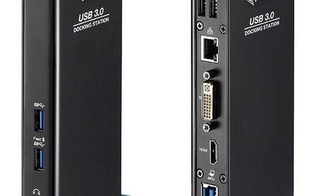 Dokovací stanice i-tec USB3.0 Dual HDMI/DVI + USB (U3HDMIDVIDOCK)