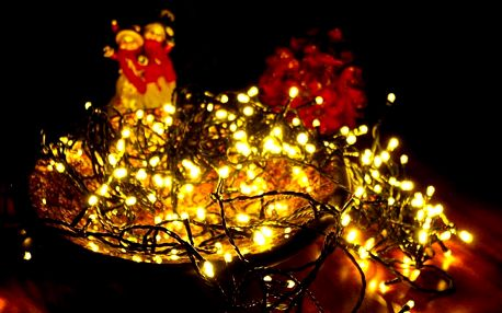 Nexos 876 Vánoční LED osvětlení 10 m - teple bílá, 100 diod